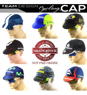 READY STOCK All Team Design Cycling Cap P3 / CAP